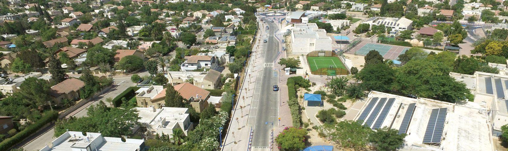 פרוייקט שיקום רחובות במיתר